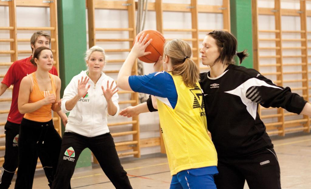 Basketball på_idrettsfag_i Volda_- kulturfag