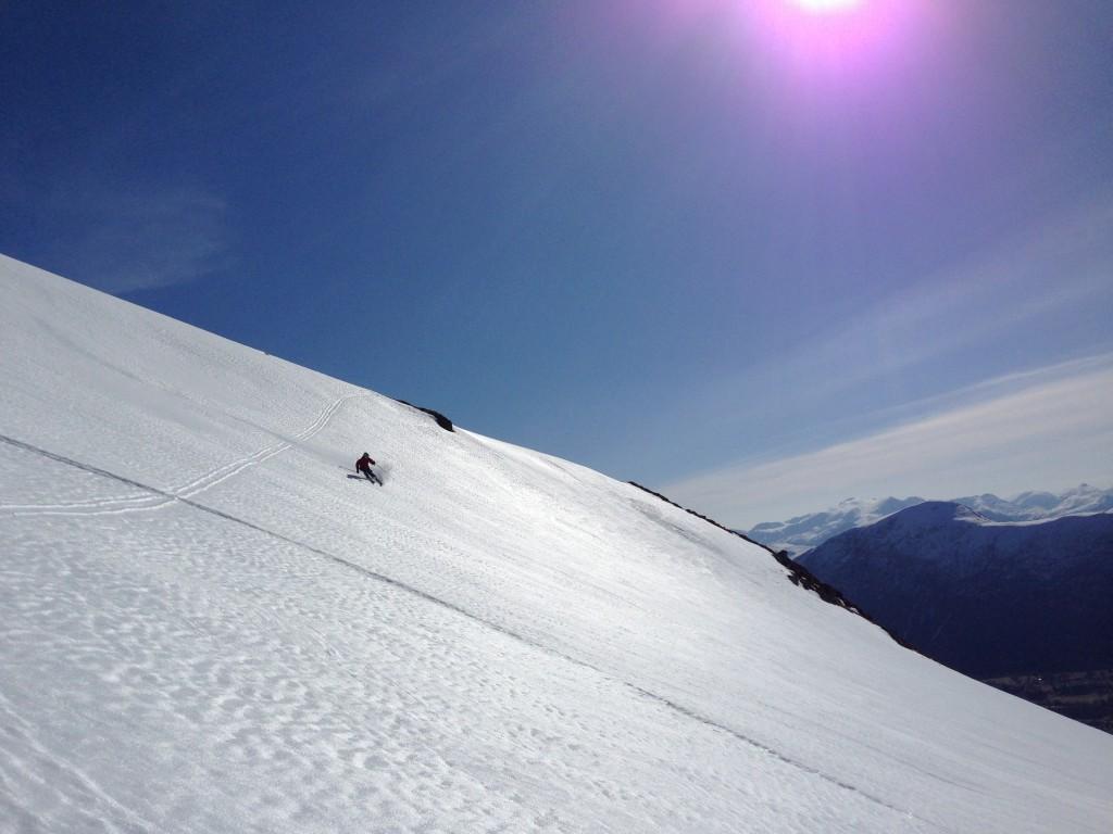 Ski fjell friluftsliv Volda  bachelor