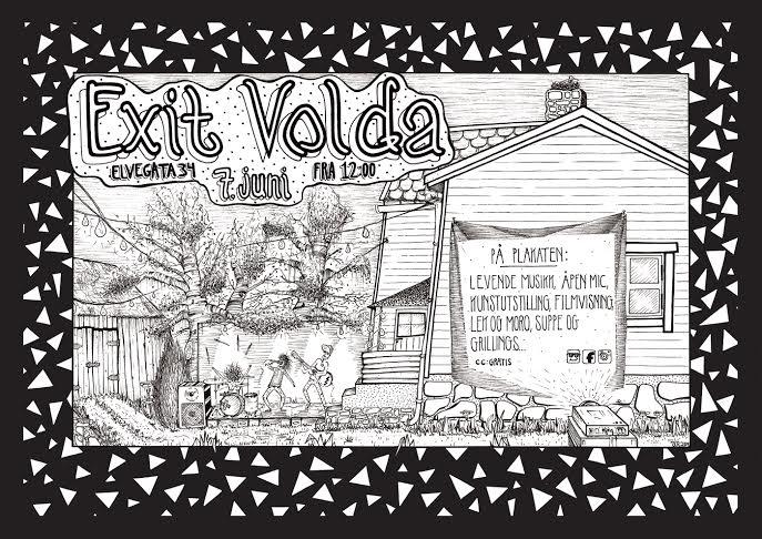 Exit_Volda_plakat_arrangement_student