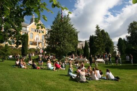 Kaarstadparken, Høgskulen i Volda