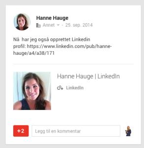 Digital kompetanse i læring på Høgskulen i Volda bruker LinkedIn