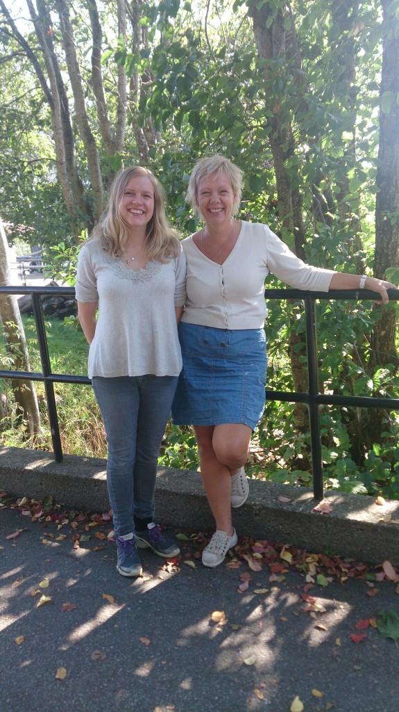 På bildet f.v.: Wenche Torrissen og Marit Ulvund. Foto: Karoline Stokke.