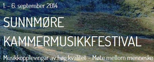 Sunnmøre kammermusikkfestival Volda