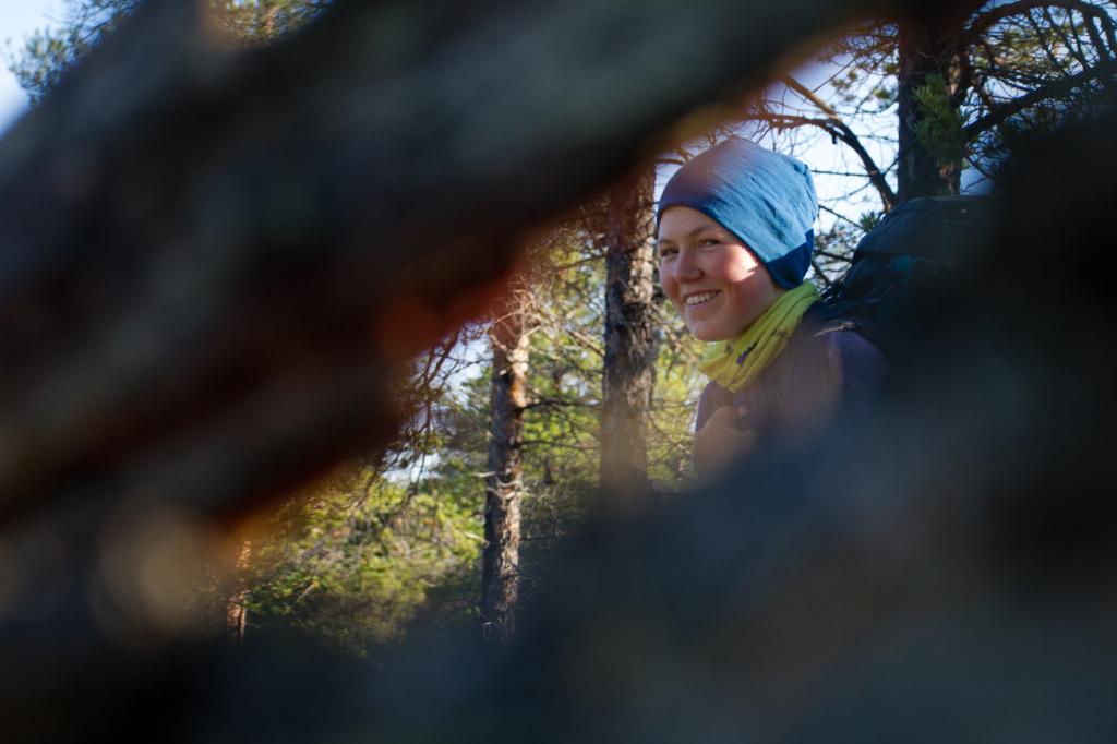 Andreas har alltid eit smil på lur, friluftsliv, Høgskulen i Volda, Foto Sondre Stenesbøl