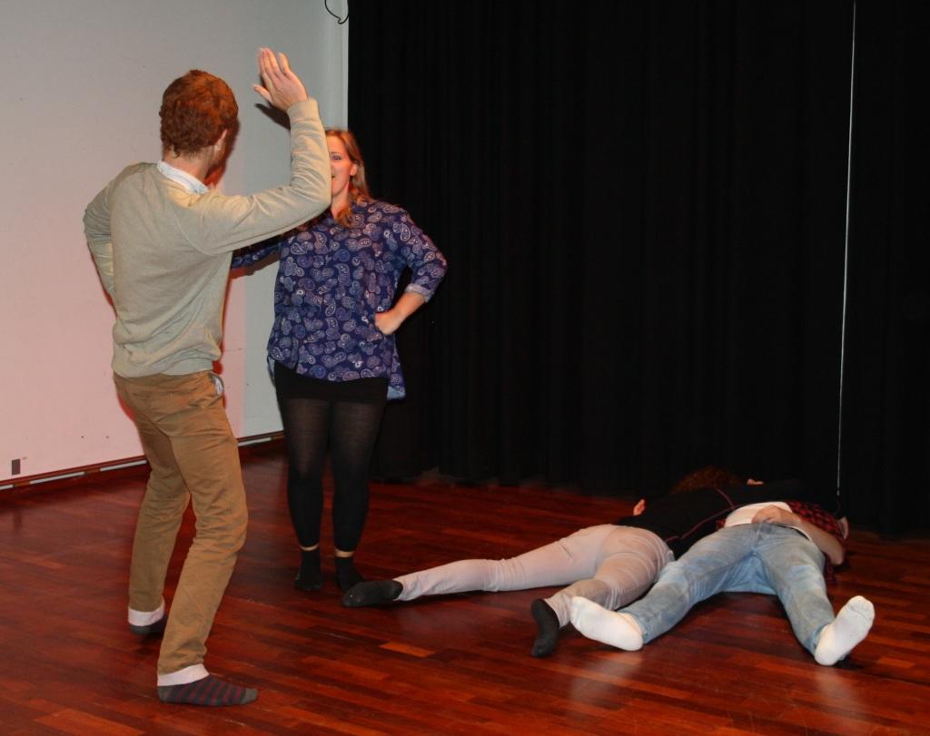 framføring workshop 15.10.14_foto av karoline stokke (28), drama og teater, Høgskulen i Volda