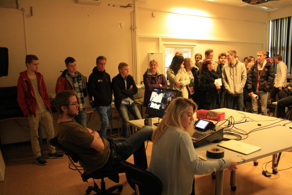 Utdanningsdagane 2014, foto av Karoline Stokke (56), media, IKT og design, Høgskulen i Volda