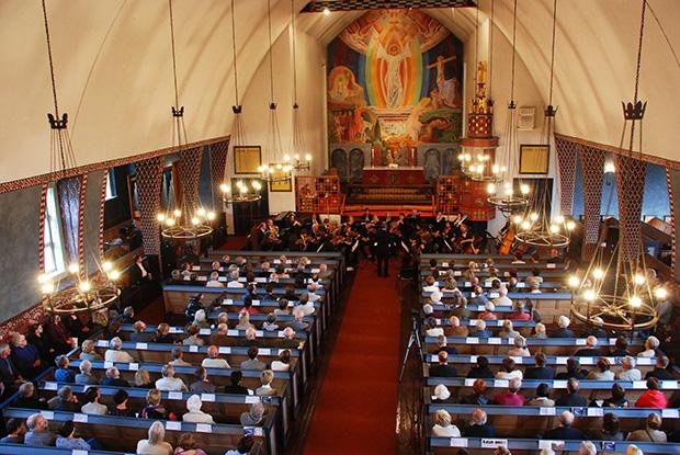 adventskonsert, 2009, avdeling for kulturfag, høgskulen i volda, høgskulekoret, symfoniorkesteret