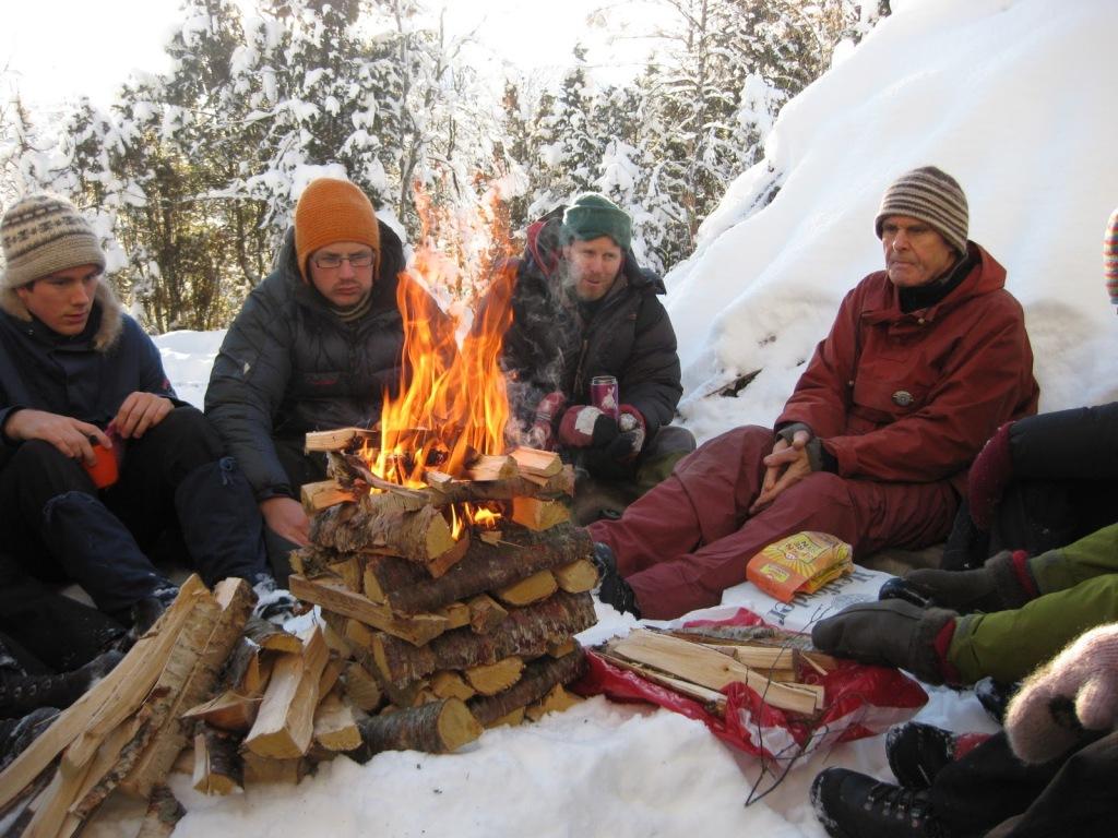 nils faarlund, friluftslivbesøk fra tidligere år, høgskulen i Volda, foto av tiril eid rye