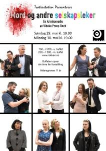Plakatbilde Mord og andre selskapsleker